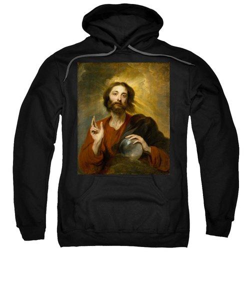 Christ As Salvator Mundi Sweatshirt