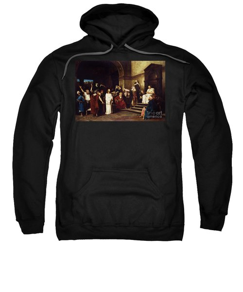 Christ Before Pilate Sweatshirt