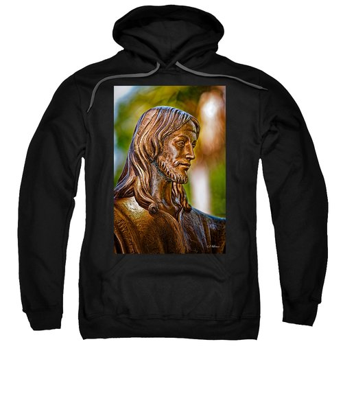 Christ In Bronze Sweatshirt