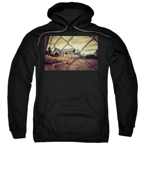 Sweatshirt featuring the photograph Christchurch Cathedral by Chris Cousins