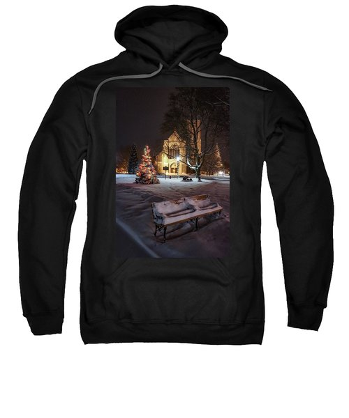 Church Of St Mary St Paul At Christmas Sweatshirt