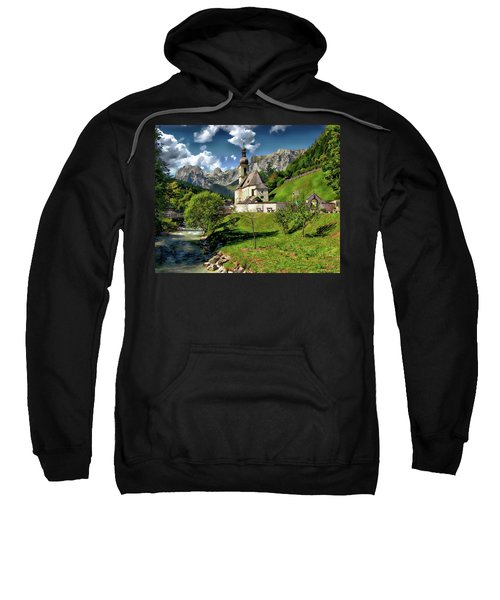 Church Of St. Sebastian Sweatshirt