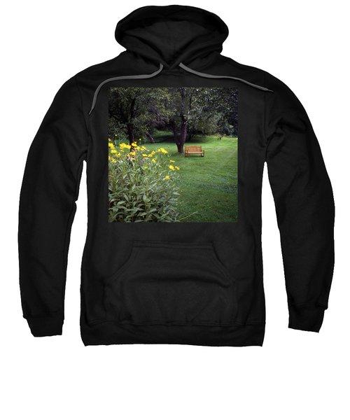 Churchyard Bench - Woodstock, Vermont Sweatshirt