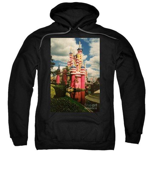 Cinderellas Castle 25th Anniversary Birthday Cake Sweatshirt