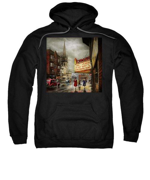 City - Amsterdam Ny - Life Begins 1941 Sweatshirt