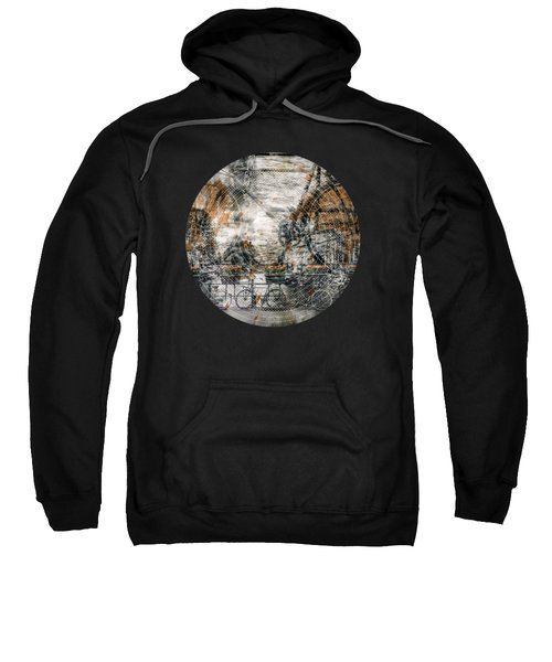 City-art Amsterdam Bicycles  Sweatshirt