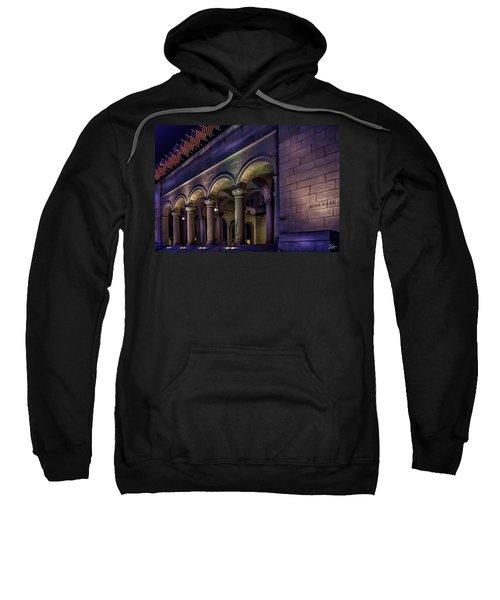 City Hall At Night Sweatshirt