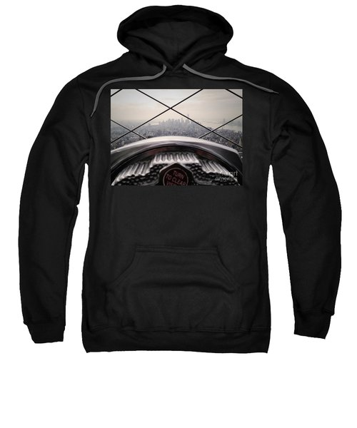 Sweatshirt featuring the photograph City View by MGL Meiklejohn Graphics Licensing