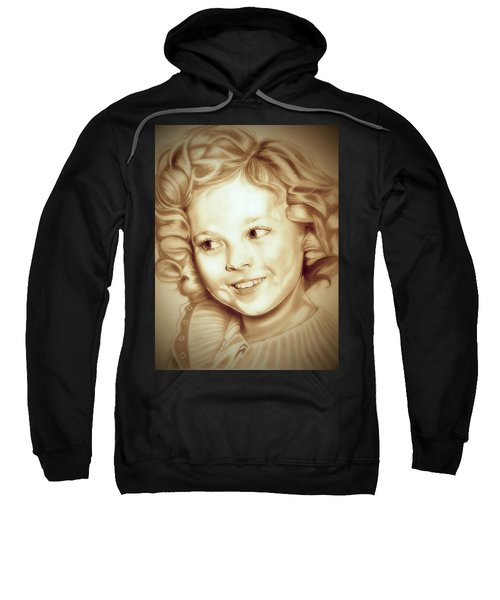 Classic Shirley Temple Sweatshirt by Fred Larucci