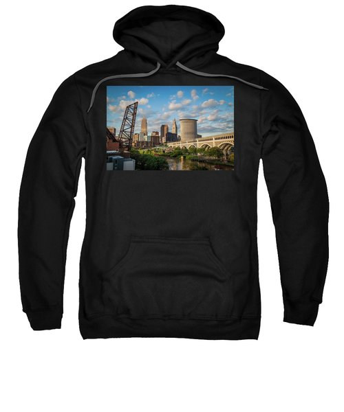 Cleveland Summer Skyline  Sweatshirt