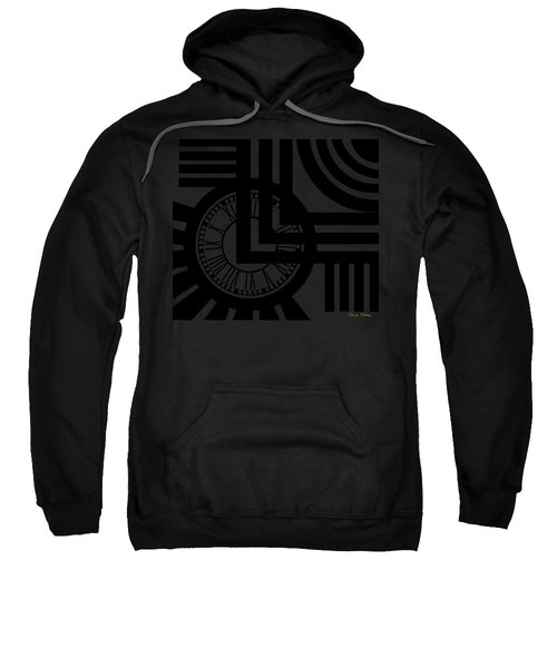 Clock Design Sweatshirt