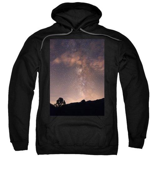 Clouds And Milky Way Sweatshirt