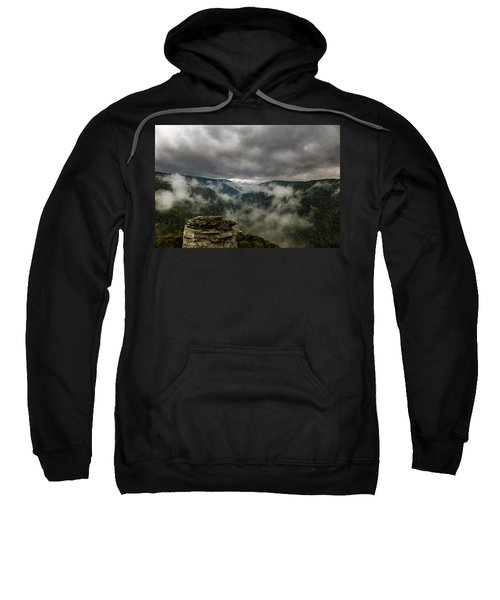 Clouds Rising At Lindy Point Sweatshirt
