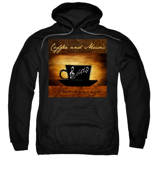 Coffee And Music Sweatshirt