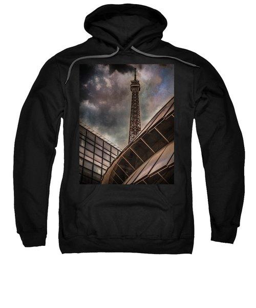 Paris, France - Colliding Grids Sweatshirt