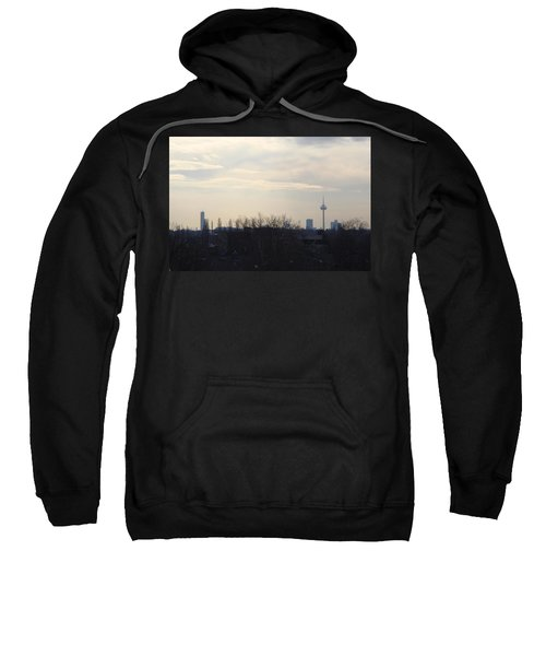 Cologne Skyline  Sweatshirt by Michael Paszek