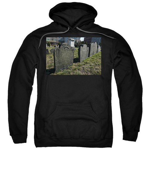 Colonial Graves At Phipps Street Sweatshirt