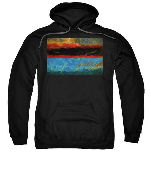 Color Abstraction Xxxix Sweatshirt