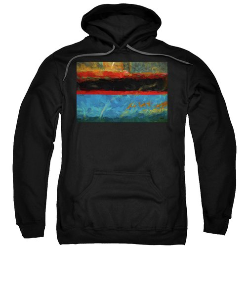 Color Abstraction Xxxix Sweatshirt