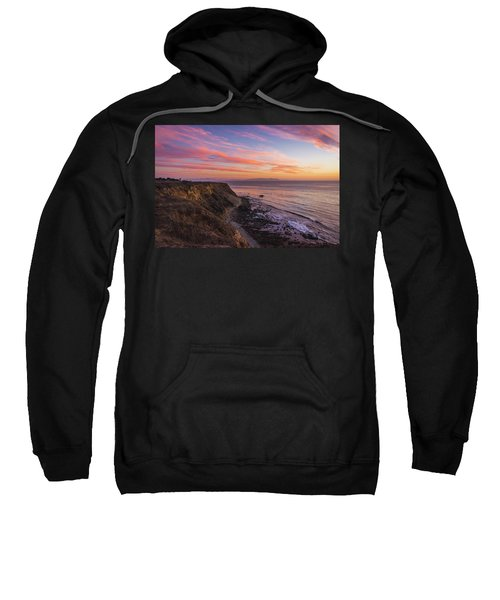 Colorful Sunset At Golden Cove Sweatshirt