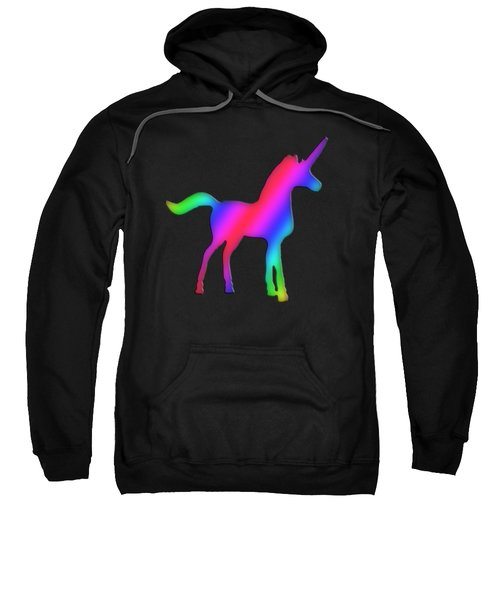 Colourful Unicorn  Sweatshirt by Ilan Rosen