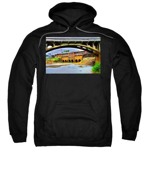 Columbia Canal At Gervais Street Bridge Sweatshirt