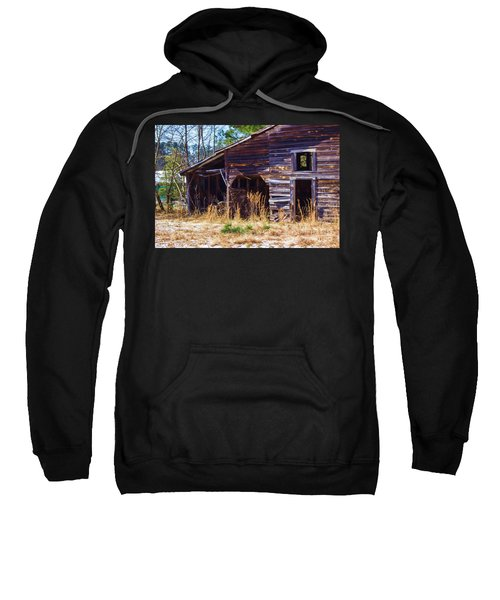 Coming Apart With Character Barn Sweatshirt
