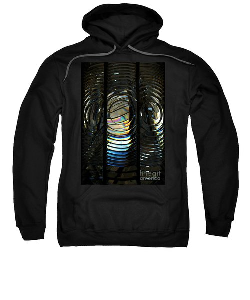 Concentric Glass Prisms - Water Color Sweatshirt