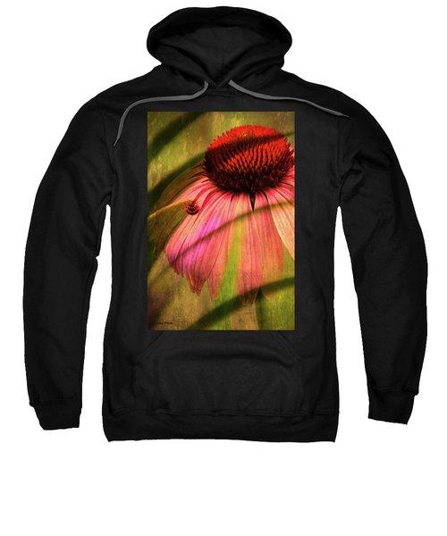 Cone Flower And The Ladybug Sweatshirt