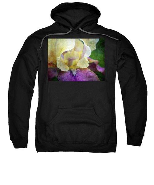 Cool Toned Purple Iris 0319 Idp_3 Sweatshirt