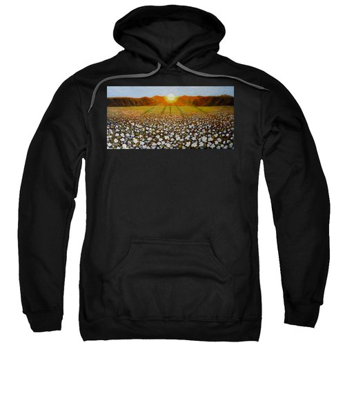 Cotton Field Sunset Sweatshirt