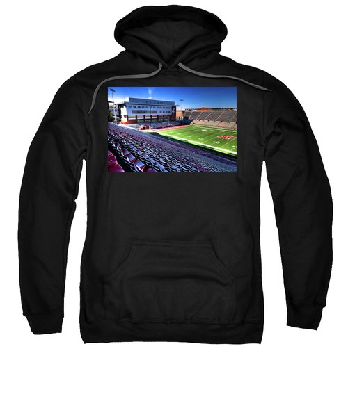 Cougar Football Complex At Martin Stadium Sweatshirt