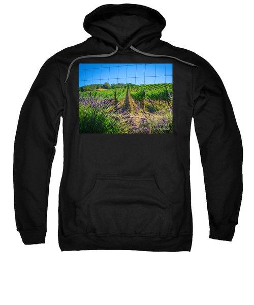 Country Lavender V Sweatshirt