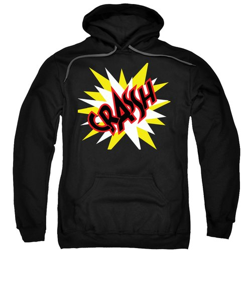 Crash T-shirt And Print By Kaye Menner Sweatshirt by Kaye Menner