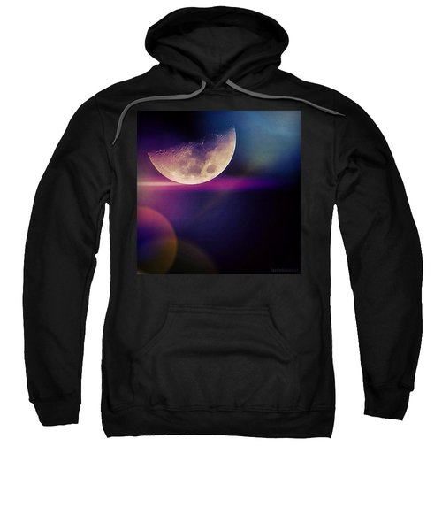 #crazy #colorful #fun #moon And The Sweatshirt
