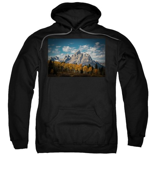 Crown For Tetons Sweatshirt by Edgars Erglis