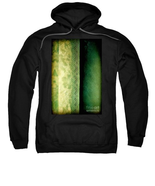 Sweatshirt featuring the photograph Curtain by Silvia Ganora