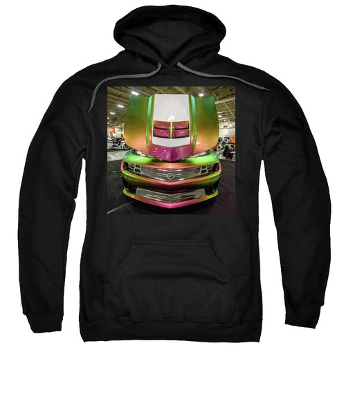 Sweatshirt featuring the photograph Custom Camaro by Randy Scherkenbach