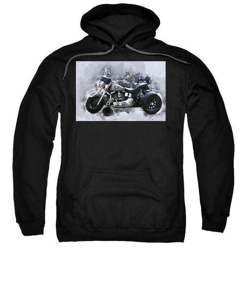 Customized Harley Davidson Sweatshirt