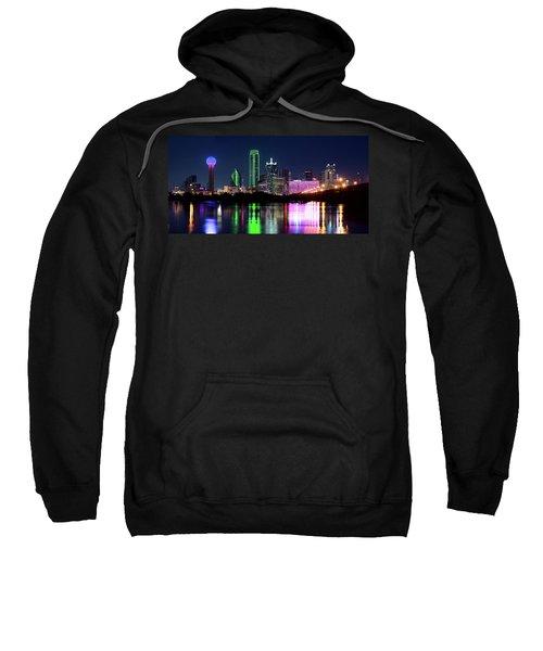 Dallas Colorful Night 52716 Sweatshirt