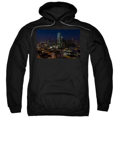 Dallas Skyline Evening Glow Sweatshirt