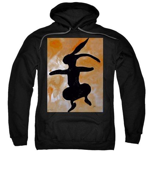 Dancing Bunny Sweatshirt