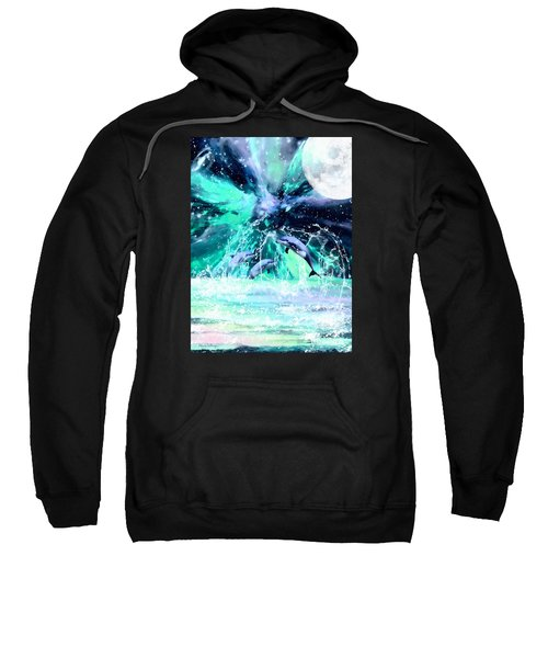 Dancing Dolphins Under The Moon Sweatshirt