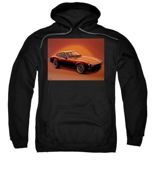 Datsun 240z 1970 Painting Sweatshirt