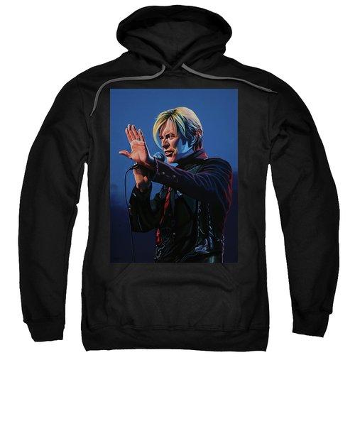 David Bowie Live Painting Sweatshirt