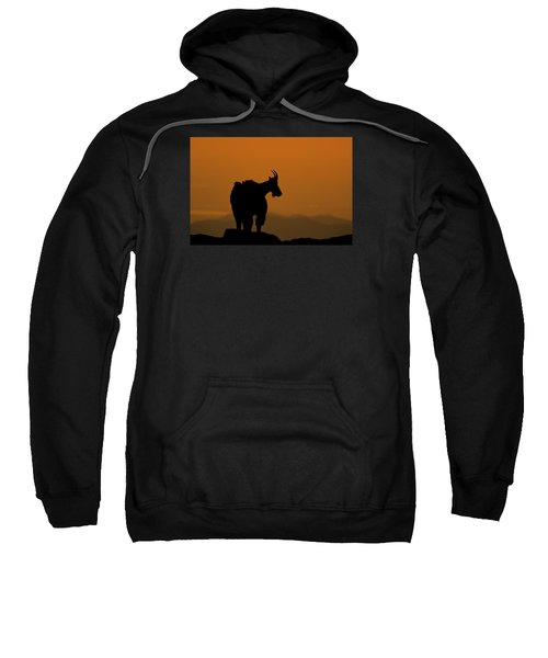 Sweatshirt featuring the photograph Day's End by Gary Lengyel