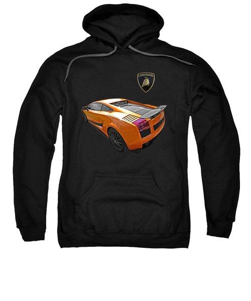Dazzling Orange Lamborghini Sweatshirt