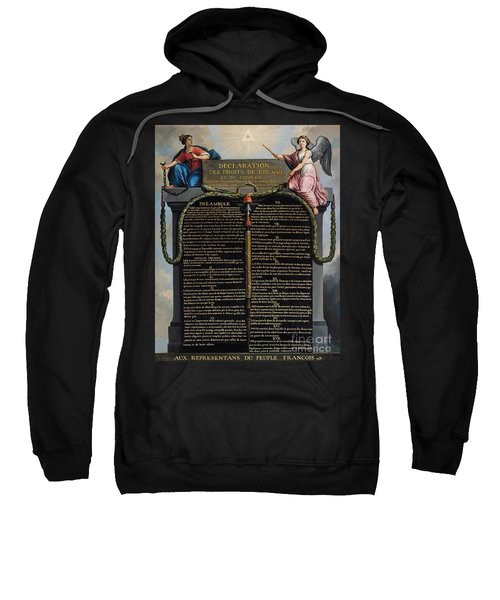 Declaration Of The Rights Of Man And Citizen Sweatshirt