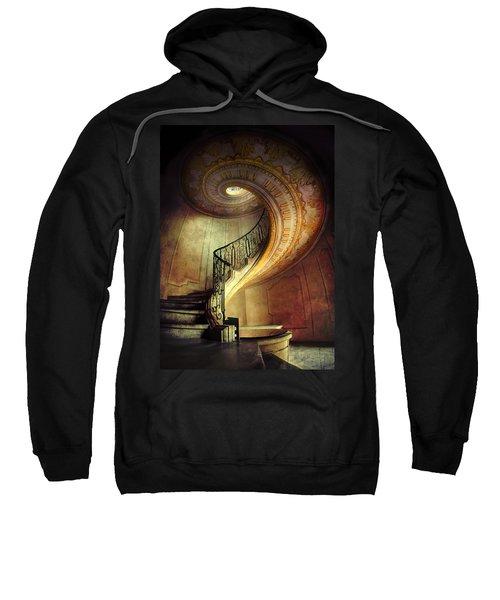 Decorated Spiral Staircase  Sweatshirt