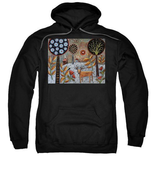 Deer And Bird 1 Sweatshirt